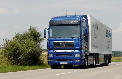 Вантажний автомобіль «MAN»