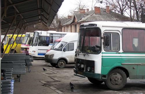 Автостанція №2 у Полтаві