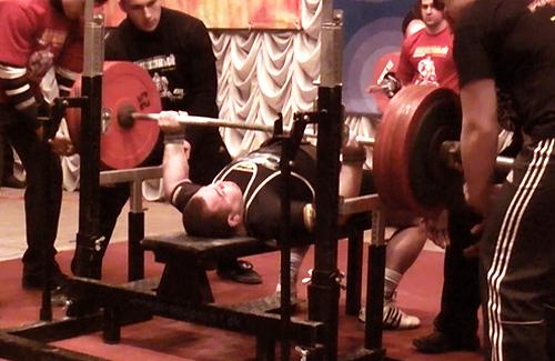 Андрей Крымов, жим 300 кг