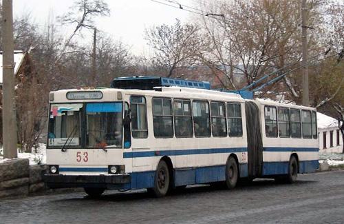 У Полтаві «розпарують» тролейбуси