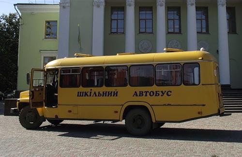 Кошти для програми «Шкільний автобус» виділяються із обласного бюджету