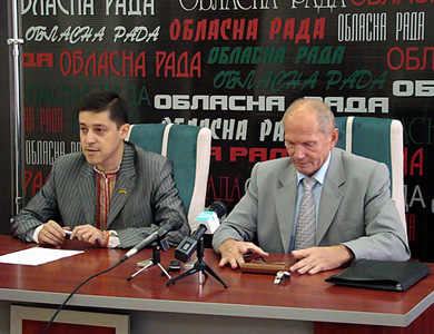 Олег Пустовгар і Ярослав Кендзьор