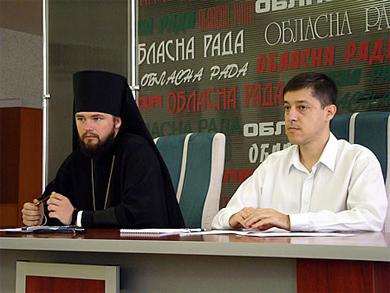 Прес-конференія присвячена помісній церкві Єпископа Федора і Олега пустовгар