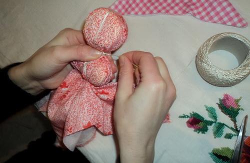 Виготовлення ляльки-мотанки