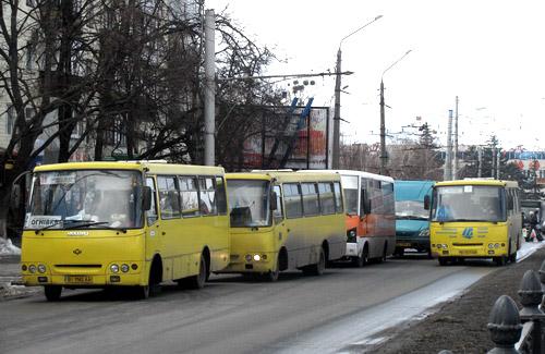 Автобусы Полтавы