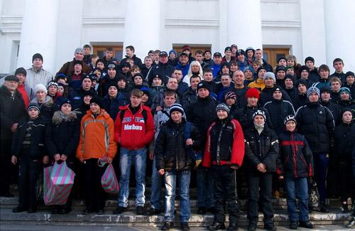 Юні футболісти з Полтави вболівали за «Шахтар»