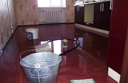 Затопленная квартира в доме на ул. Гожулянской, 26