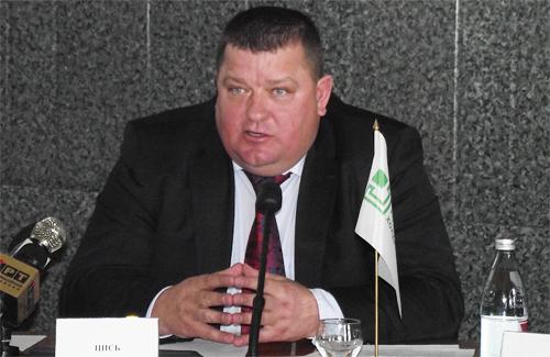 Директор Полтавского областного отделения «Приватбанка» Александр Цись