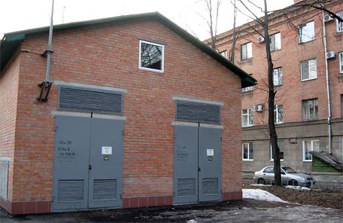 Трансформаторная подстанция у дома на Котляревского, 21