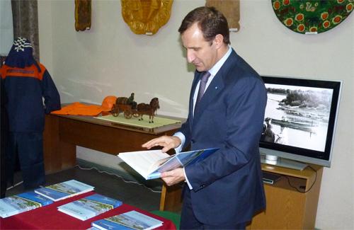 Олег Бабаев прочитает книгу о горводоканале от корки до корки
