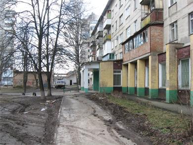 Земля вокруг дома на переулке Хорольский, 3 стала «яблоком раздора»