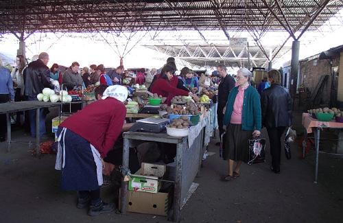 Центральный продовольственный рынок Полтавы