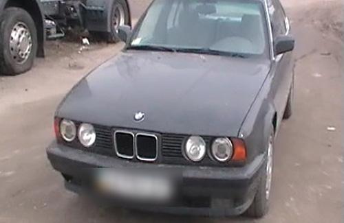 У Кременчуці затримали автомобіль-двійник