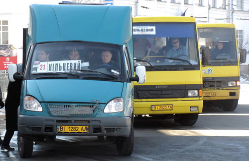 У Полтаві проштрафилася диспетчерська служба пасажирських перевезень