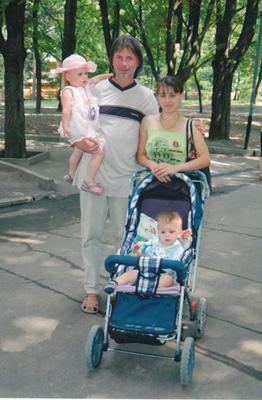 Юлия и её семья