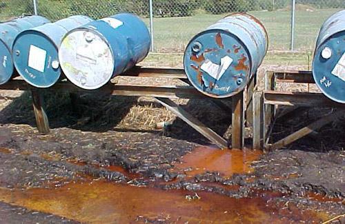 Промышленные отходы в регионе вывозить некуда