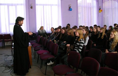 У Полтавській гімназії № 9 незвична подія
