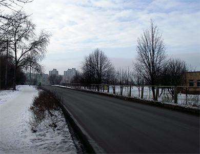 Улица Артема в Полтаве