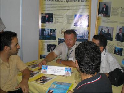 Олег Горб с иностранными студентами