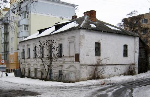 Будинок Луначарського у Полтаві (березень 2010 р.)