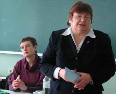 Олена Гаран, Ганна Кіященко