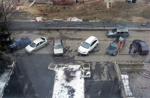 Улица Котляревского в Полтаве