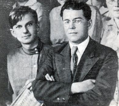 Юрій Тимошенко та Павло Тичина