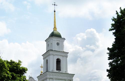 Дзвіниця Свято-Успенського собору в Полтаві