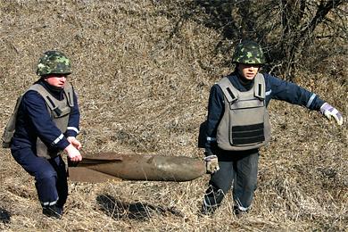 Полтавські піротехніки знешкодили бомбу