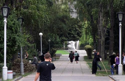 Парк ім. Котляревського —  одне з найулюбленіших місць відпочинку полтавців