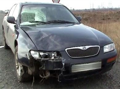 Водитель бросил умирающего пешехода и свой автомобиль