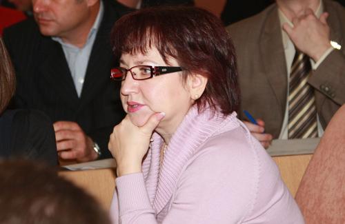 Депутат-мажоритарщик от «Совести Украины» Людмила Лысенко