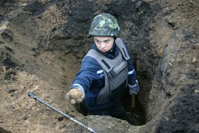 «Вибуховий» скарб знайшли у Терешках