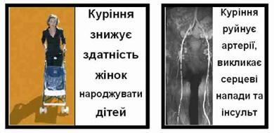 Страшні картинки для курців затверджено