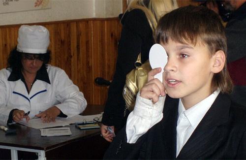 На Полтавщині розпочалися обов'язкові медичні огляди учнів шкіл