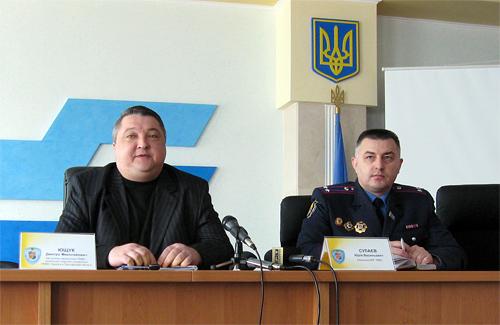 Дмитрий Ющук и Юрий Сулаев