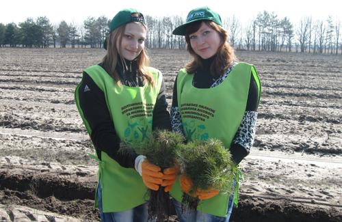 Полтавські ліси в надійних руках молоді