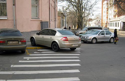 Парковка по-полтавски