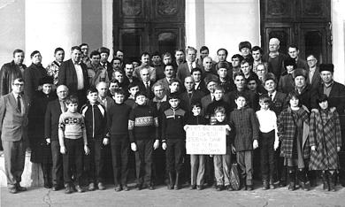 Відбірковий турнір 40 чемпіонату міста Полтави далекого 1989 року