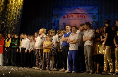 Полтава приймає півфінальні ігри команд КВН-ЮІР
