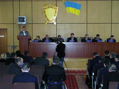 Прокуратура Полтавської області підбила підсумки додержання законодавства
