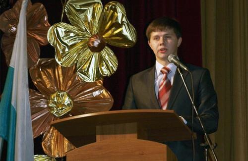 Голова Студентської ради Полтави Ігор Рева