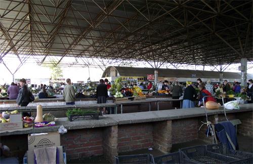 Центральний продовольчий ринок в Полтаві
