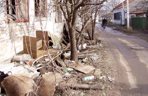 Жители Полтавы просят «разогнать бомжатник»