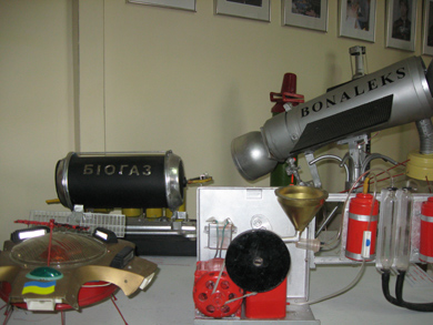 Виставка моделей космічних апаратів