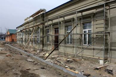 Вокзал станции «Карловка»
