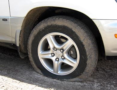 Самосуд над автомобилем в Полтаве