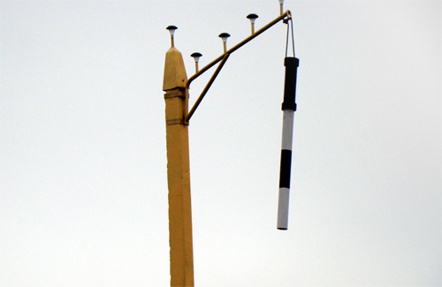 Застережний знак — символічний жезл автоінспектора