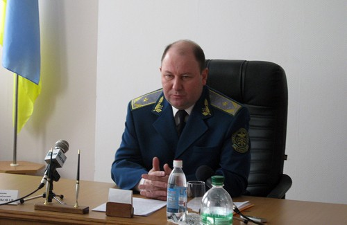 Начальник Полтавської митниці Ігор Леончіков