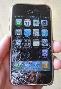 Розбитий iPhone